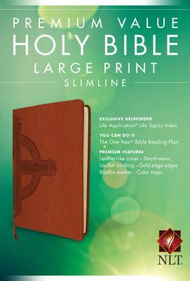 "Image for ""Premium Value Slimline Bible Large Print NLT, Cross"""