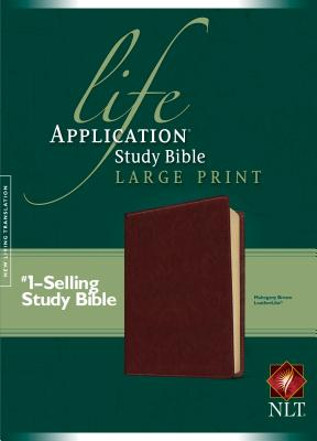 "Image for ""''NLT Life Application Study Bible, Large Print Brown Leatherlike''"""