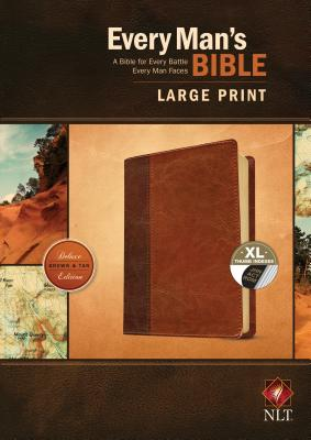 "Image for ""''NLT Every Man's Bible, Large Print, TuTone, LeatherLike, Tan, With thumb index''"""
