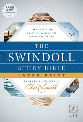 Image for The Swindoll Study Bible NLT, Large Print