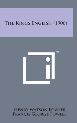 Image for The Kings English (1906)