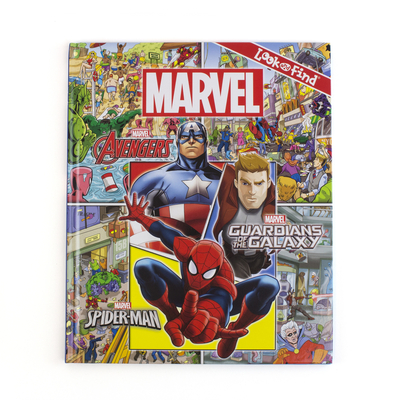 Image for Marvel - Avengers, Guardians of the Galaxy, and Spider-man - Look and Find Activity Book