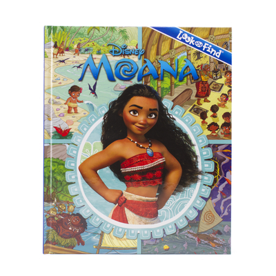 Image for Disney - Moana - Look and Find Activity Book