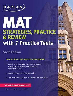 MAT Strategies, Practice & Review (Kaplan Test Prep), Kaplan