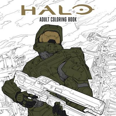 Halo Coloring Book, Microsoft