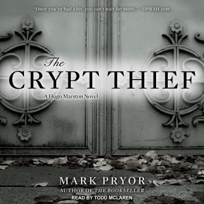 The Crypt Thief: A Hugo Marston Novel, Pryor, Mark