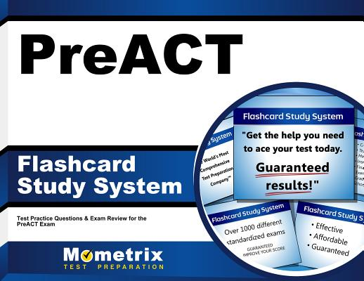 Image for PreACT Flashcard Study System: PreACT Test Practice Questions & Exam Review for the PreACT Exam (Cards)