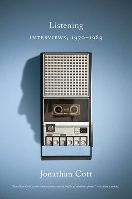 Image for Listening: Interviews, 19701989