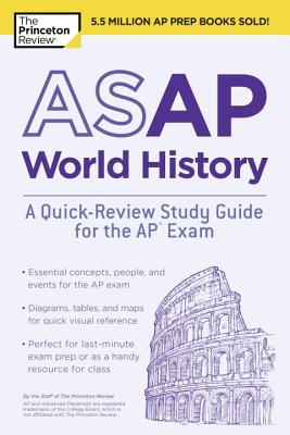 Image for ASAP World History: A Quick-Review Study Guide for the AP Exam (College Test Preparation)