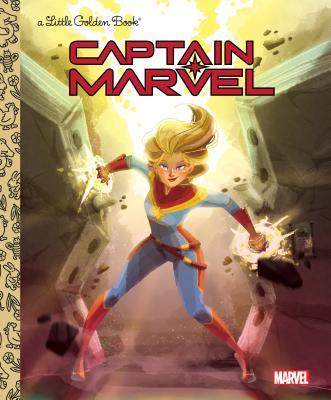 Image for Captain Marvel Little Golden Book (Marvel)
