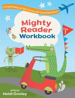 Image for Mighty Reader Workbook, Grade 1: 1st Grade Reading and Skills Practice with Favorite Bible Stories