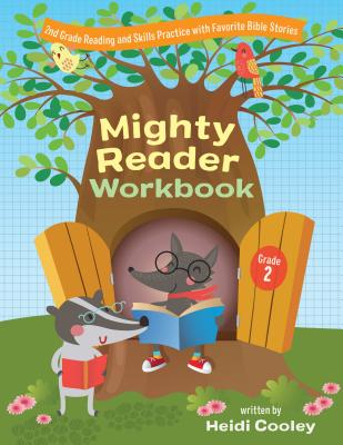 Image for Mighty Reader Workbook, Grade 2: 2nd Grade Reading and Skills Practice with Favorite Bible Stories