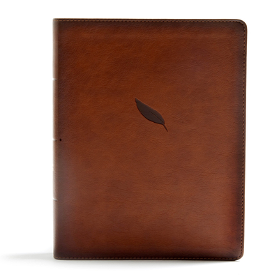 Image for CSB Legacy Notetaking Bible, Tan LeatherTouch