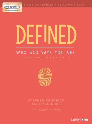 Image for Defined: Who God Says You Are - Younger Kids Activity Book: A Study on Identity for Kids