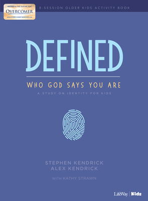 Image for Defined: Who God Says You Are - Older Kids Activity Book: A Study on Identity for Kids