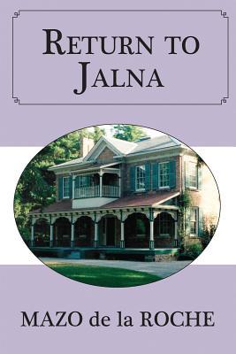 Image for Return to Jalna