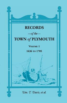 Image for Records of the Town of Plymouth, Volume 1 1636-1705