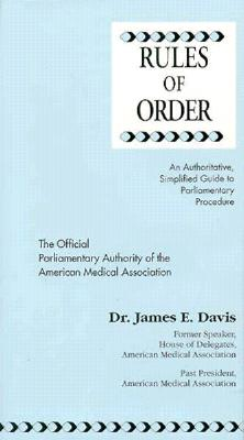Image for RULES OF ORDER