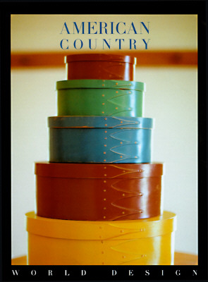 Image for American Country (World Design Series)