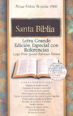 RVR 1960 Biblia Letra Grande Edici�n Especial con Referencias, borgo�a piel fabricada con �ndice (Spanish Edition)