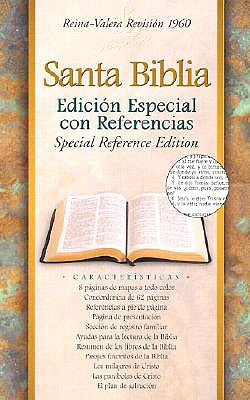 Image for Santa Biblia : Edicion Especial Con Referencias : Reina-Valera Revision 1960 : Special Reference Edition : Black Bonded Leather / Holy Bible: Edicion Especial ... : Black Bonded Leather (Spanish Edition)