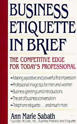 Image for Business Etiquette In Brief