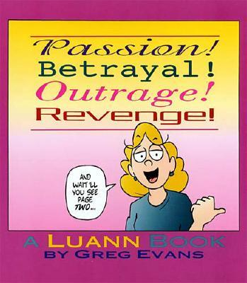 Image for PASSION! BETRAYAL! OUTRAGE! REVENGE!