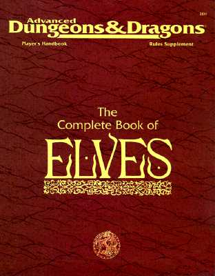 Image for COMPLETE BOOK OF ELVES