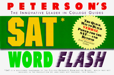 Image for SAT Word Flash