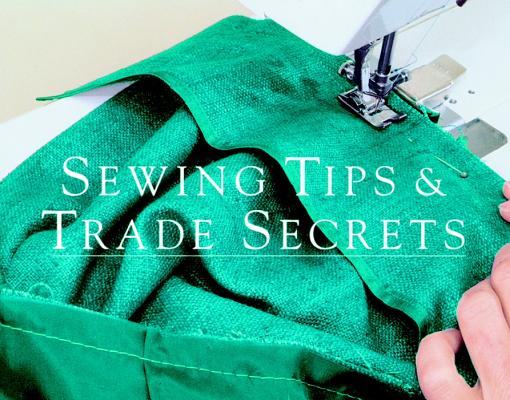 Image for Sewing Tips & Trade Secrets (Threads On)