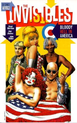 Image for The Invisibles Vol. 4: Bloody Hell in America