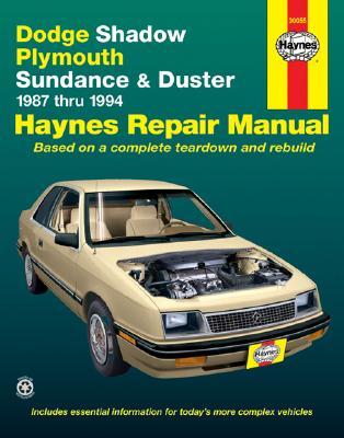 Image for Dodge Shadow & Ply. Sundance '87'94 (Haynes Repair Manuals)