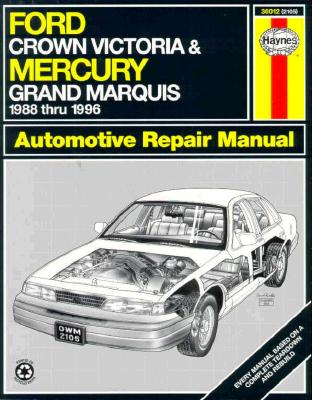 Image for Ford Crown Victoria and Mercury Grand Marquis Automotive Repair Manual