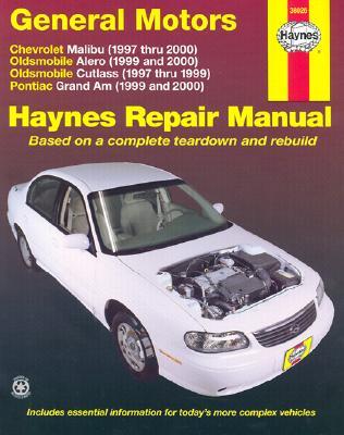 Image for Chevrolet Malibu/Oldsmobile Alero and Cutlass/Pontiac Grand Am Automotive Repair Manual