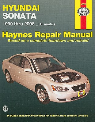 Image for Hyundai Sonata 1999-2008 (43055) Haynes Automotive Repair Manual