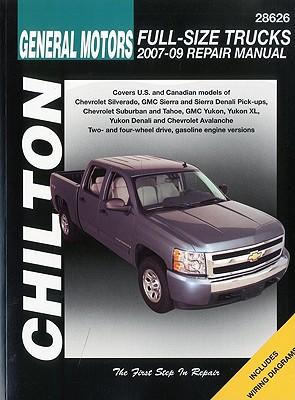 GM Full-Size Trucks, 2007-2009 (Chilton's Total Car Care Repair Manual), Chilton