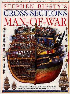Image for Stephen Biesty's Cross-Sections: Man-Of-War