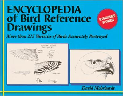 Encyclopedia of Bird Reference Drawings: More than 215 Varieties of Birds Accurately Portrayed, Mohrhardt, David