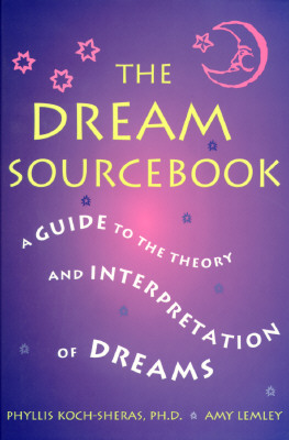 Image for The Dream Sourcebook: A Guide to the Theory and Interpretation of Dreams