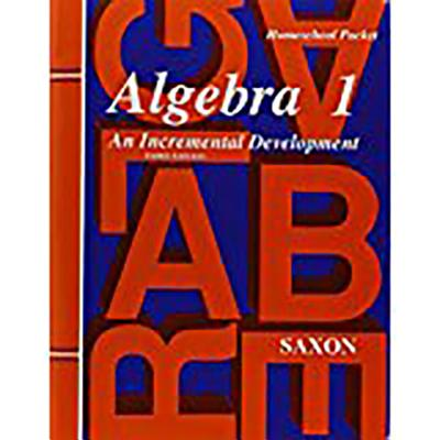 Image for Saxon Algebra 1 Tests and Answer Key, 3rd Edition