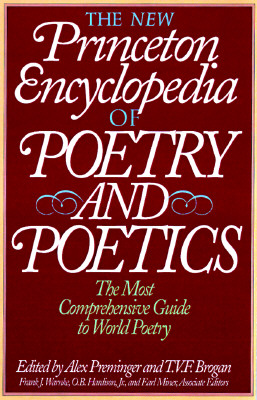 Image for The New Princeton Encyclopedia of Poetry and Poetics