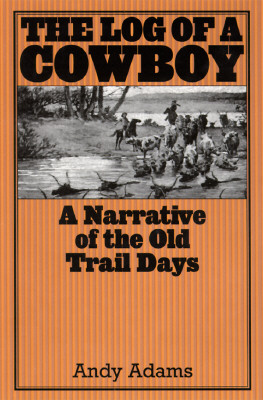Image for The Log of a Cowboy