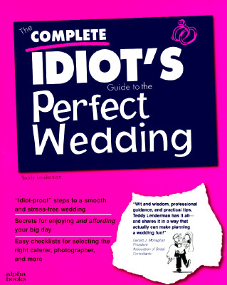 Image for Complete Idiot's Guide To Perfect Wedding