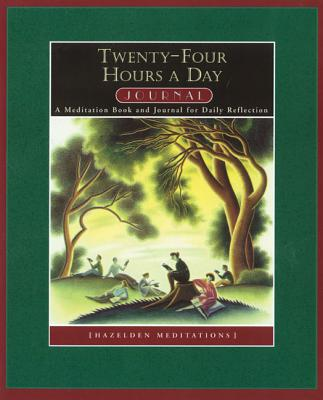 Twenty Four Hours a Day Journal: A Meditation Book and Journal for Daily Reflection (Hazelden Meditations), Walker, Richmond
