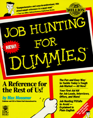 Image for Job Hunting for Dummies (For Dummies Series)