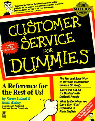 Image for Customer Service For Dummies?