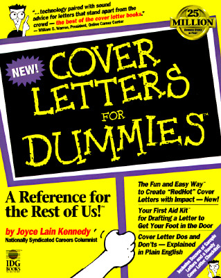 Image for COVER LETTERS FOR DUMMIES