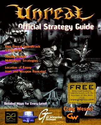 Image for UNREAL: OFFICIAL STRATEGY GUIDE