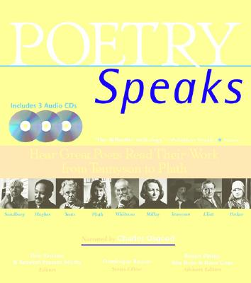 Poetry Speaks: Hear Great Poets Read Their Work from Tennyson to Plath (Book and 3 Audio CDs), Elise Paschen; Rebekah Presson Mosby
