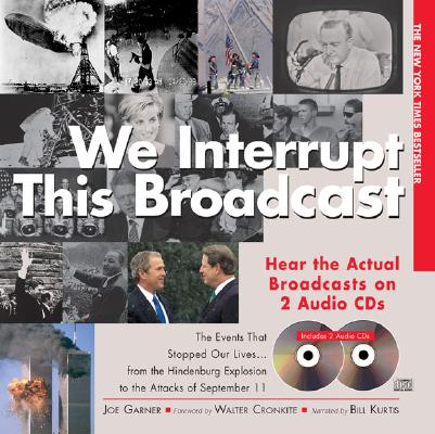 Image for We Interrupt This Broadcast with 2 Audio CDs, 3E